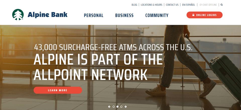alpine bank online banking